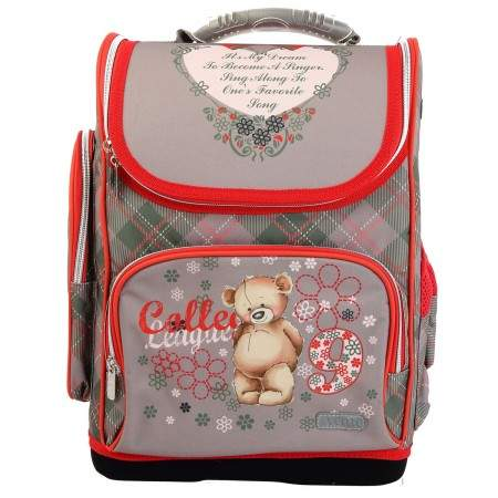 Ранец  deVENTE LITE COLLEGE BEAR. 35*26*20 см. 7030929