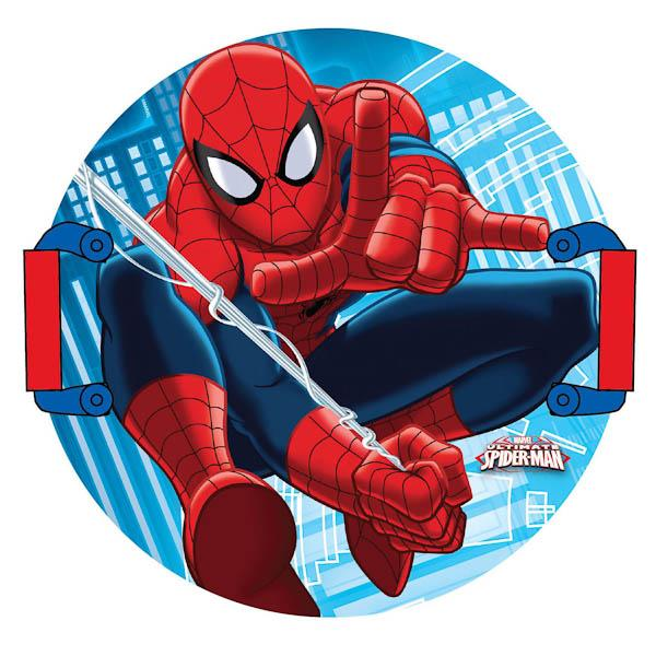 Картинка с человеком пауком круглая